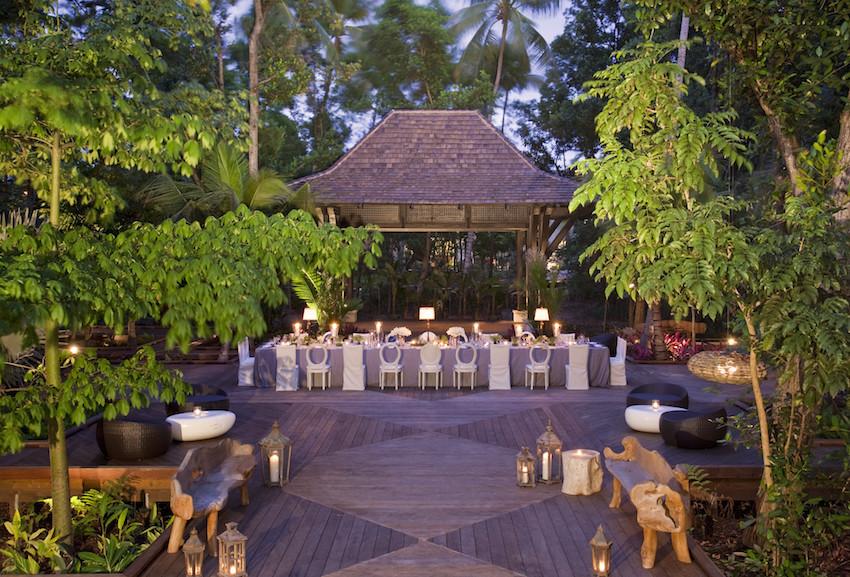 Wedding reception at The St. Regis Bahia Beach Resort