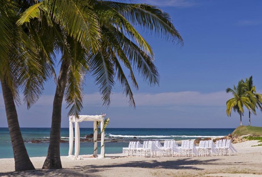 St. Regis Punta Mita beach wedding ceremony
