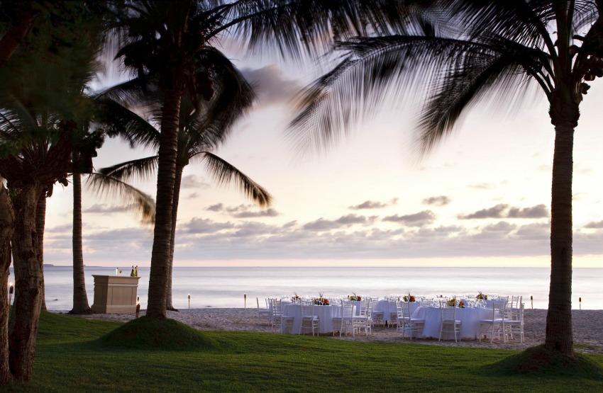 St. Regis Punta Mita beach wedding reception