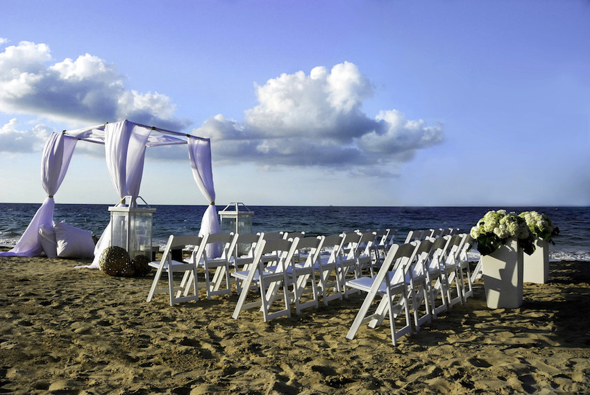 Beach wedding at W Retreat & Spa Vieques Island