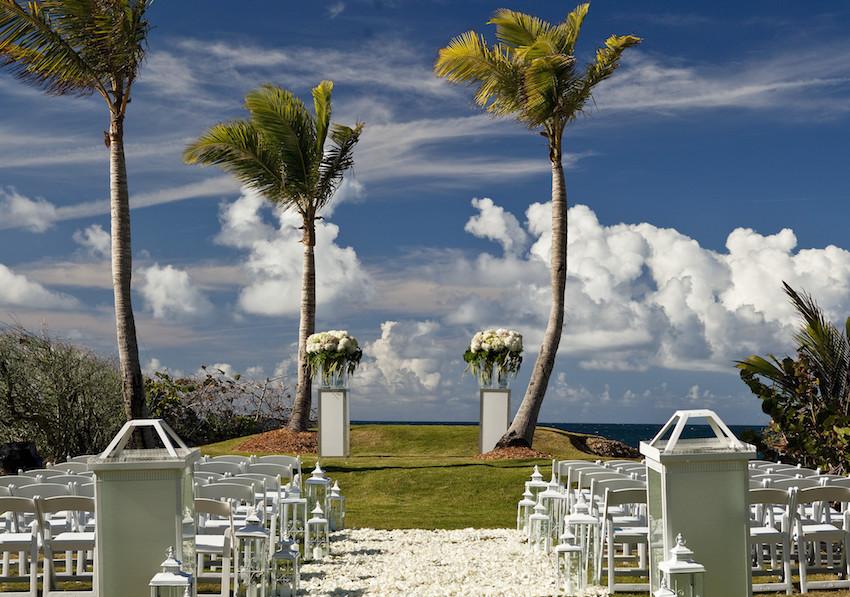 Paradise Edge wedding at W Retreat & Spa Vieques Island