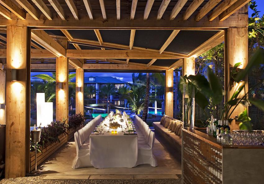 Wedding reception at W Retreat & Spa Vieques Island