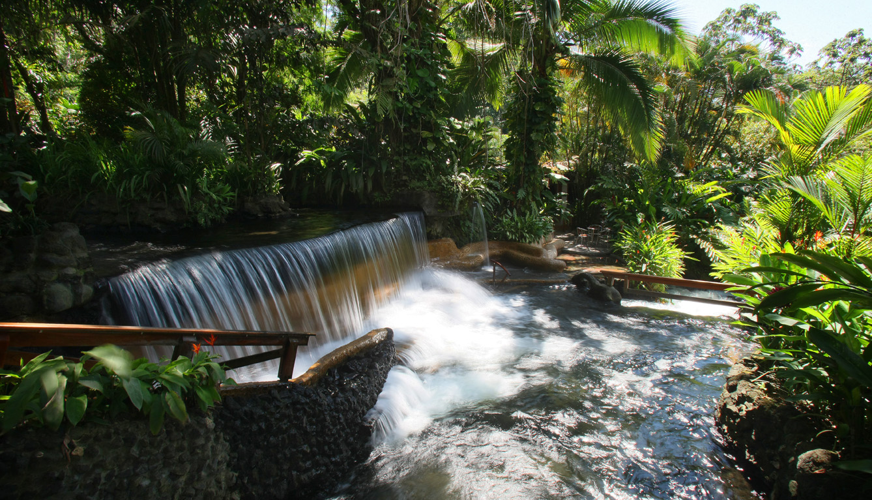 tabacon waterfall