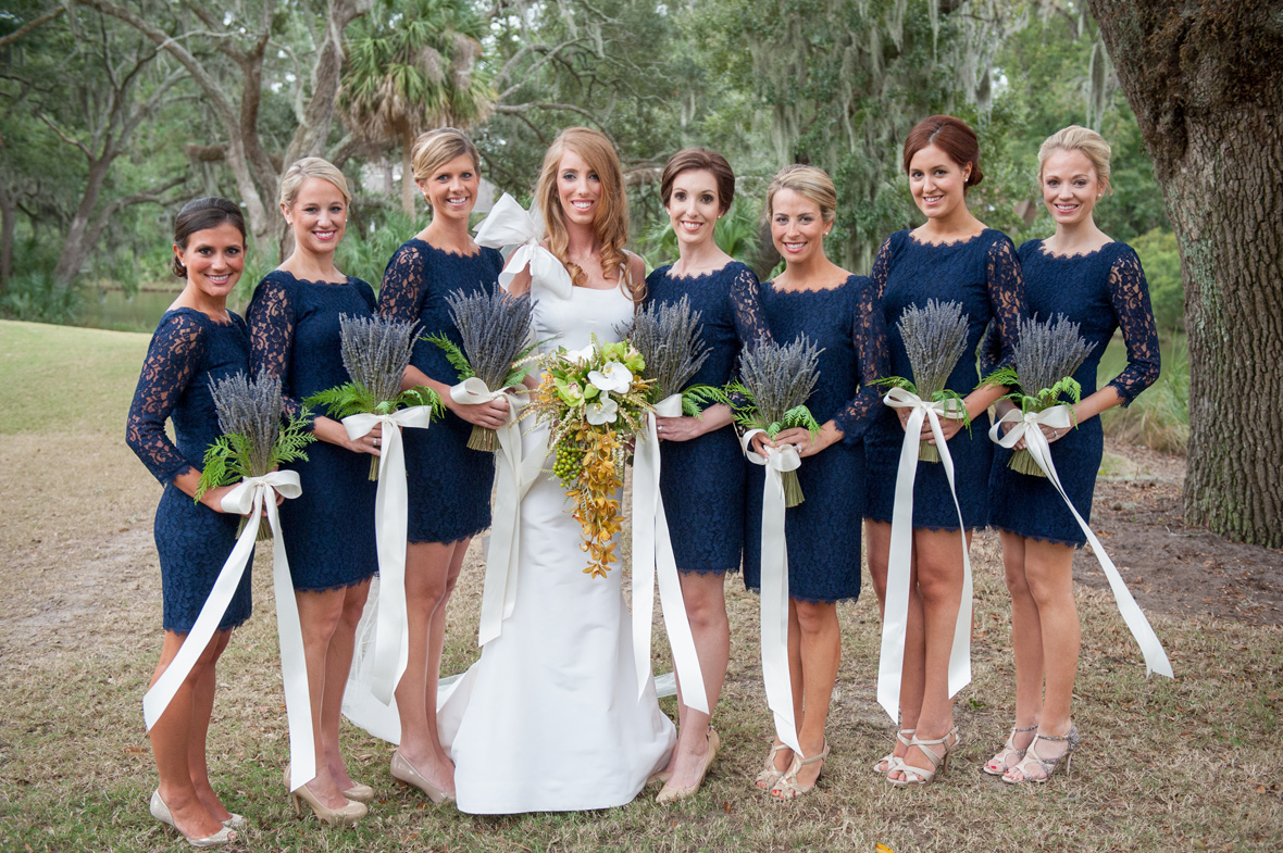 How To Style Your Bridesmaids For A Fall Wedding