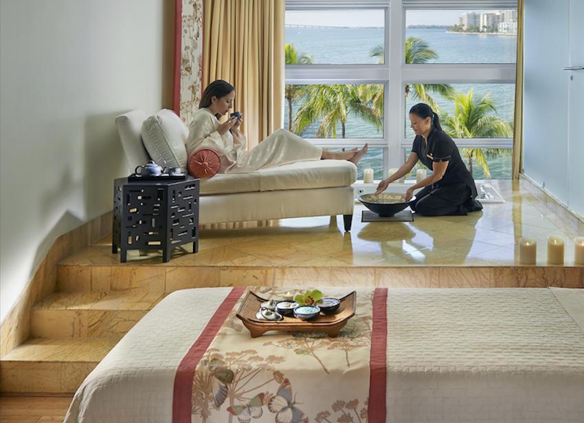 Mandarin Oriental Miami Breast Cancer Awareness Spa Treatments