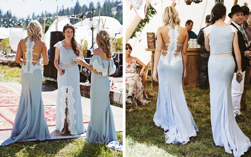 bridesmaids backs