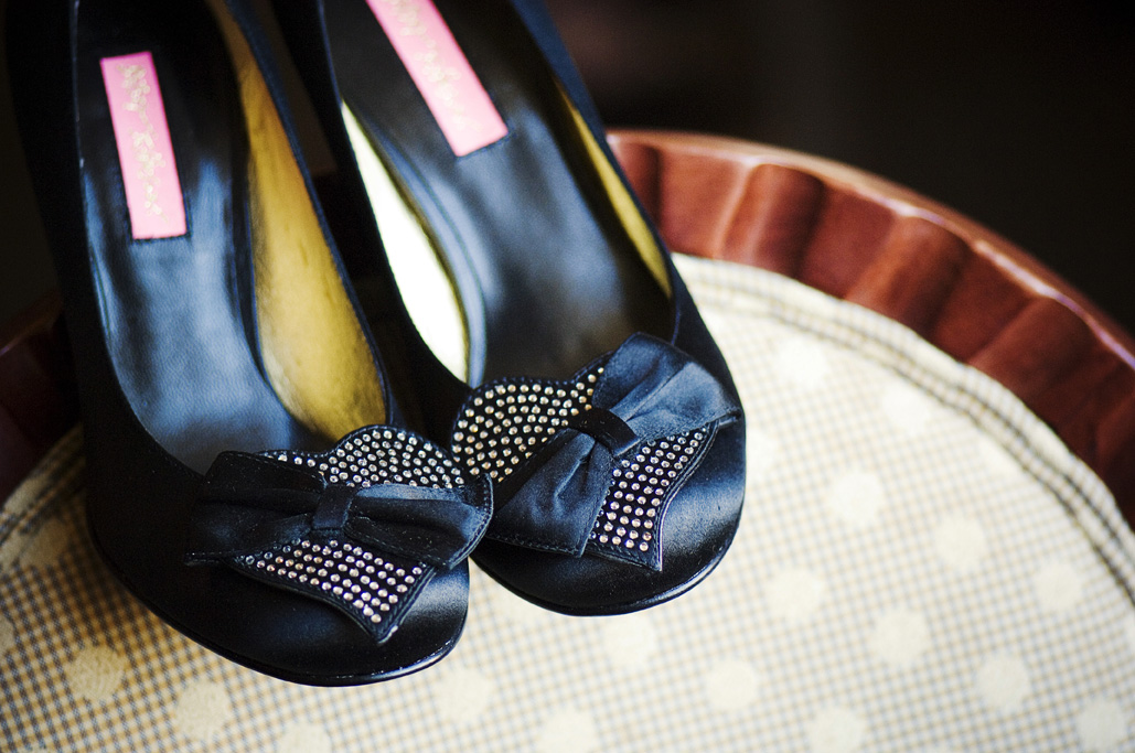 black Betsey Johnson shoes