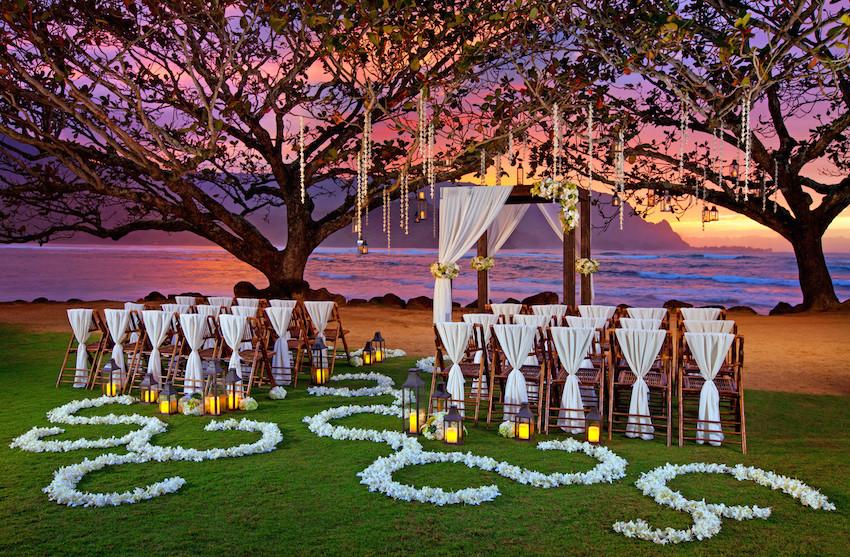 Kamani Cove Wedding The St. Regis Princeville