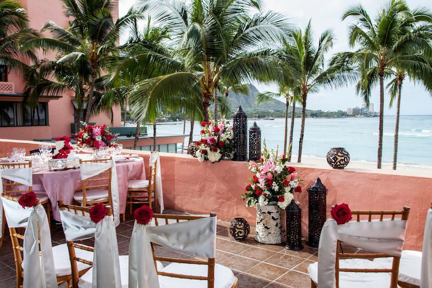 Wedding King Kamehameha Suite The Royal Hawaiian