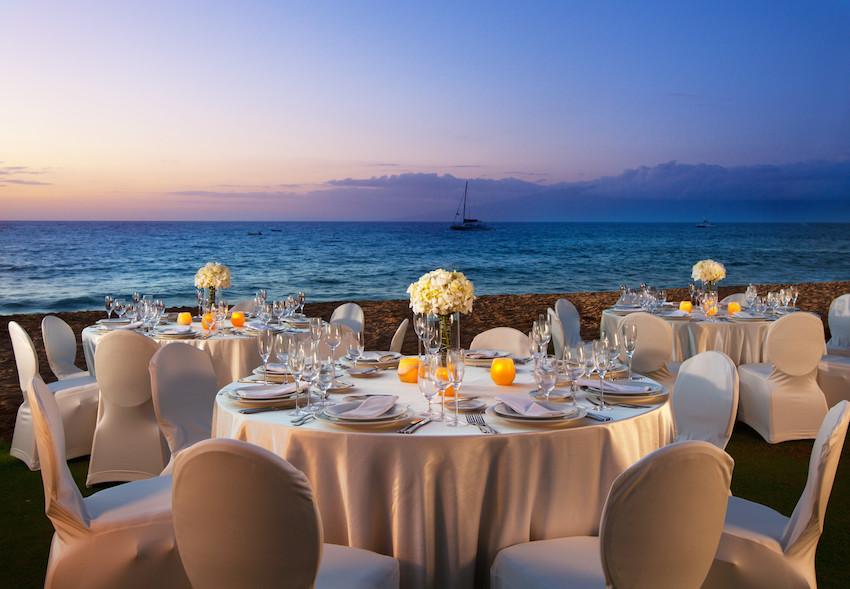 Wedding Reception The Westin Maui