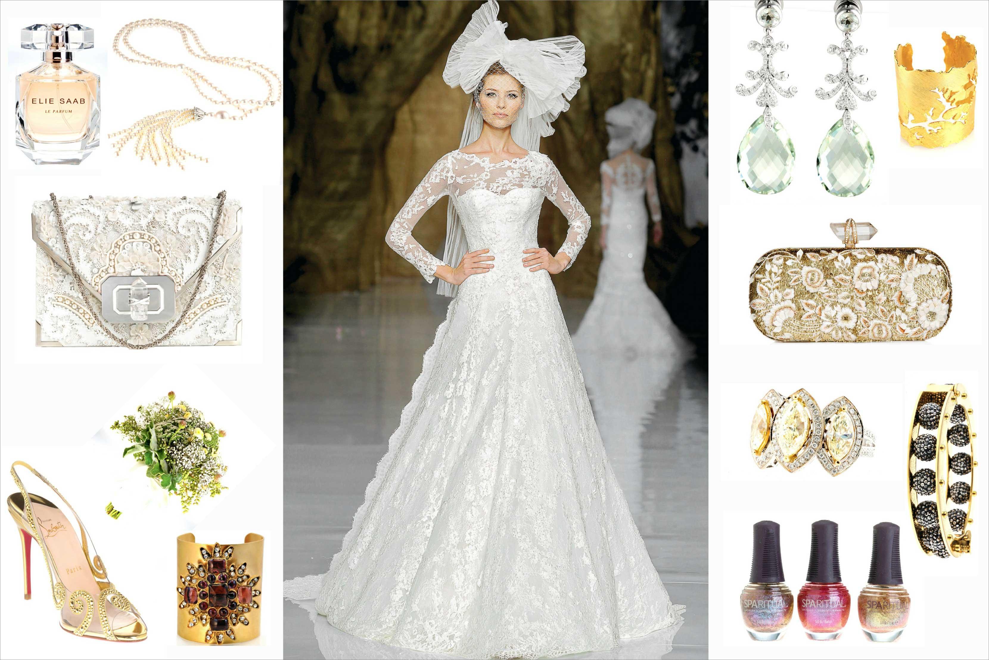 Sean Parker Wedding Bride Inspiration
