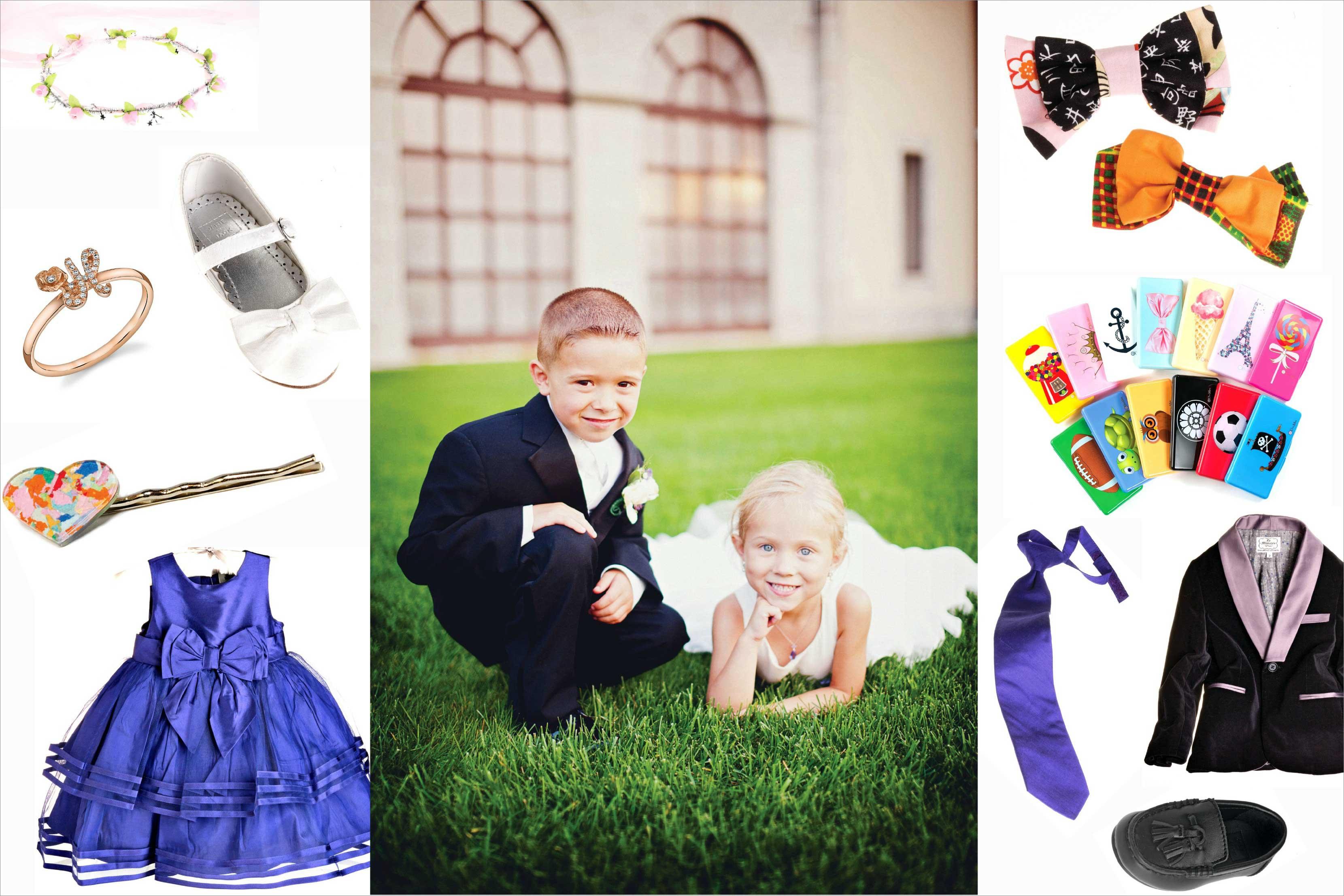 Sean Parker Wedding Flower Girl & Ring Bearer Inspiration