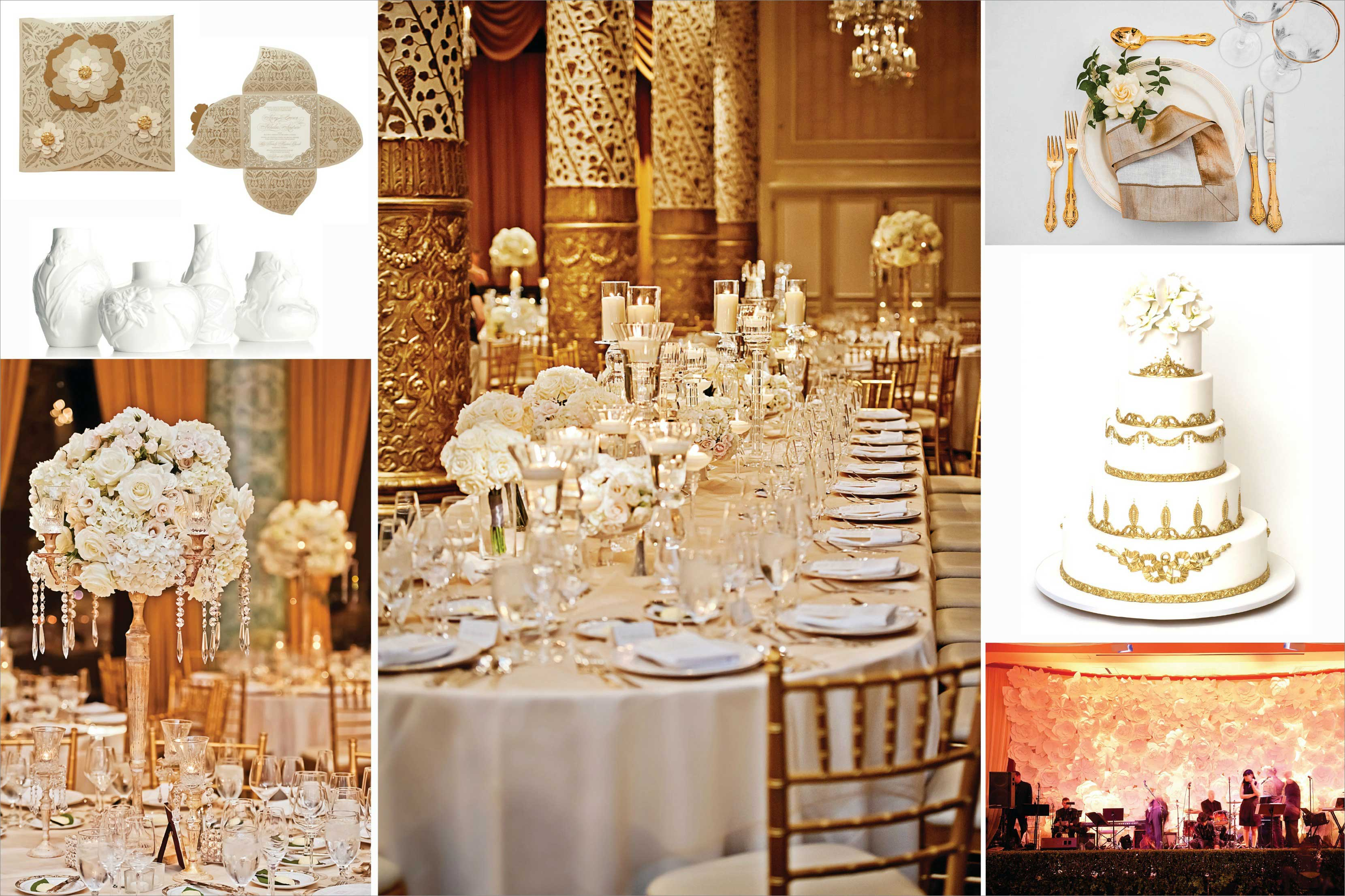 Kim Kardashian and Kanye West wedding decor ideas