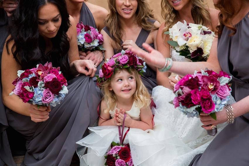 Brock Osweiler wedding flower girl and bridesmaids