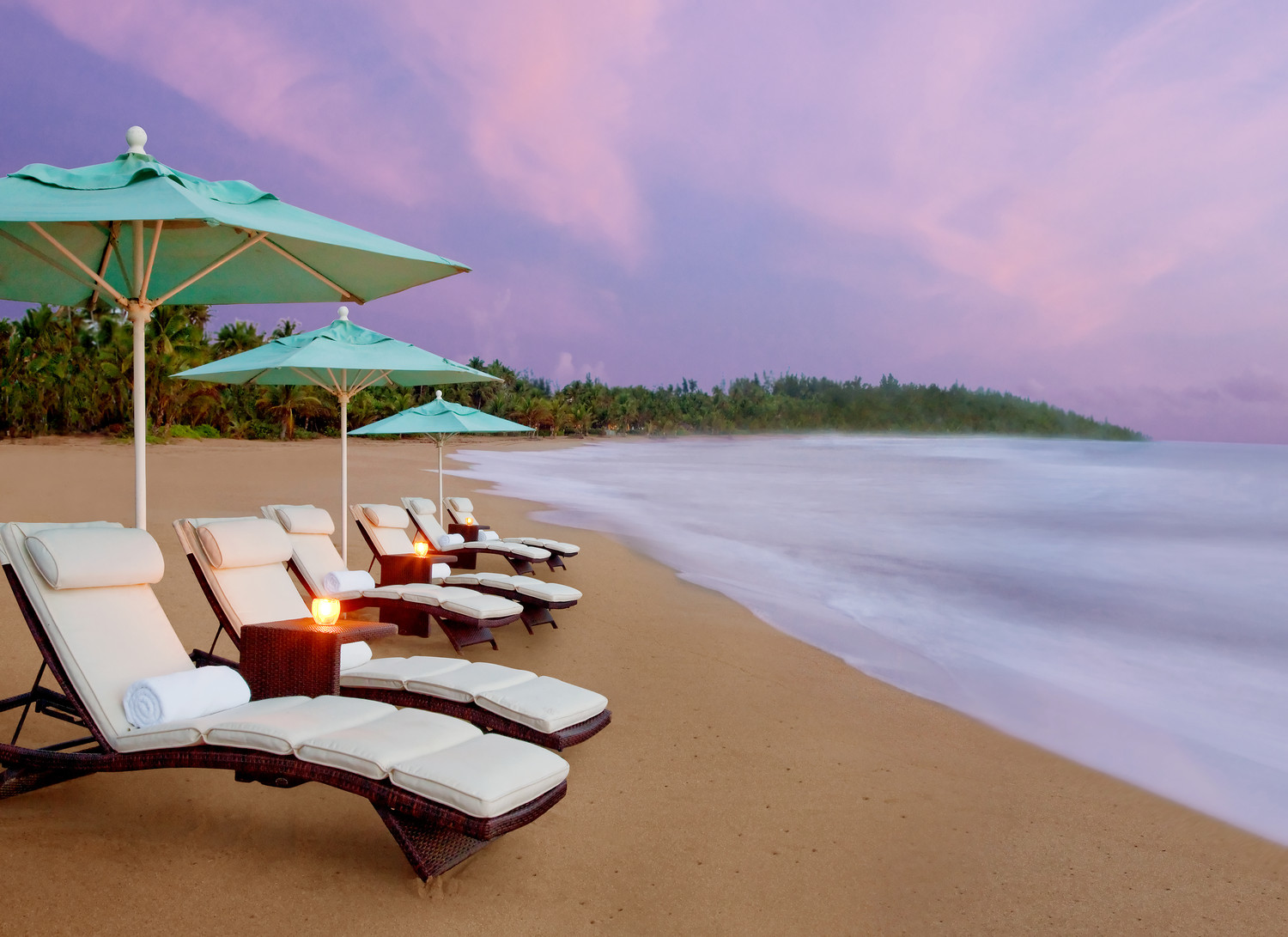 St. Regis Bahia Beach Resort at dawn