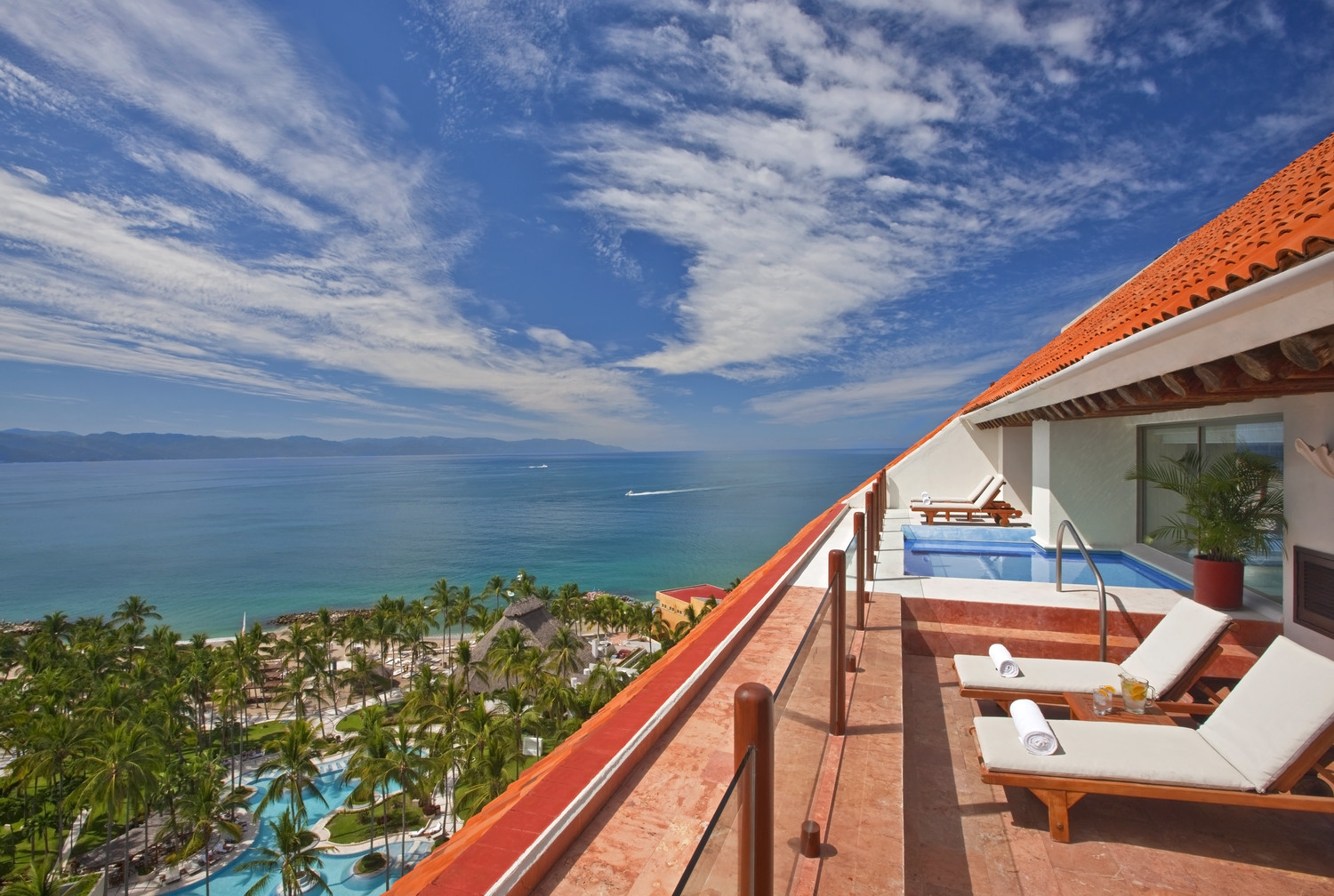 Westin Resort Puerto Vallarta balcony ocean view