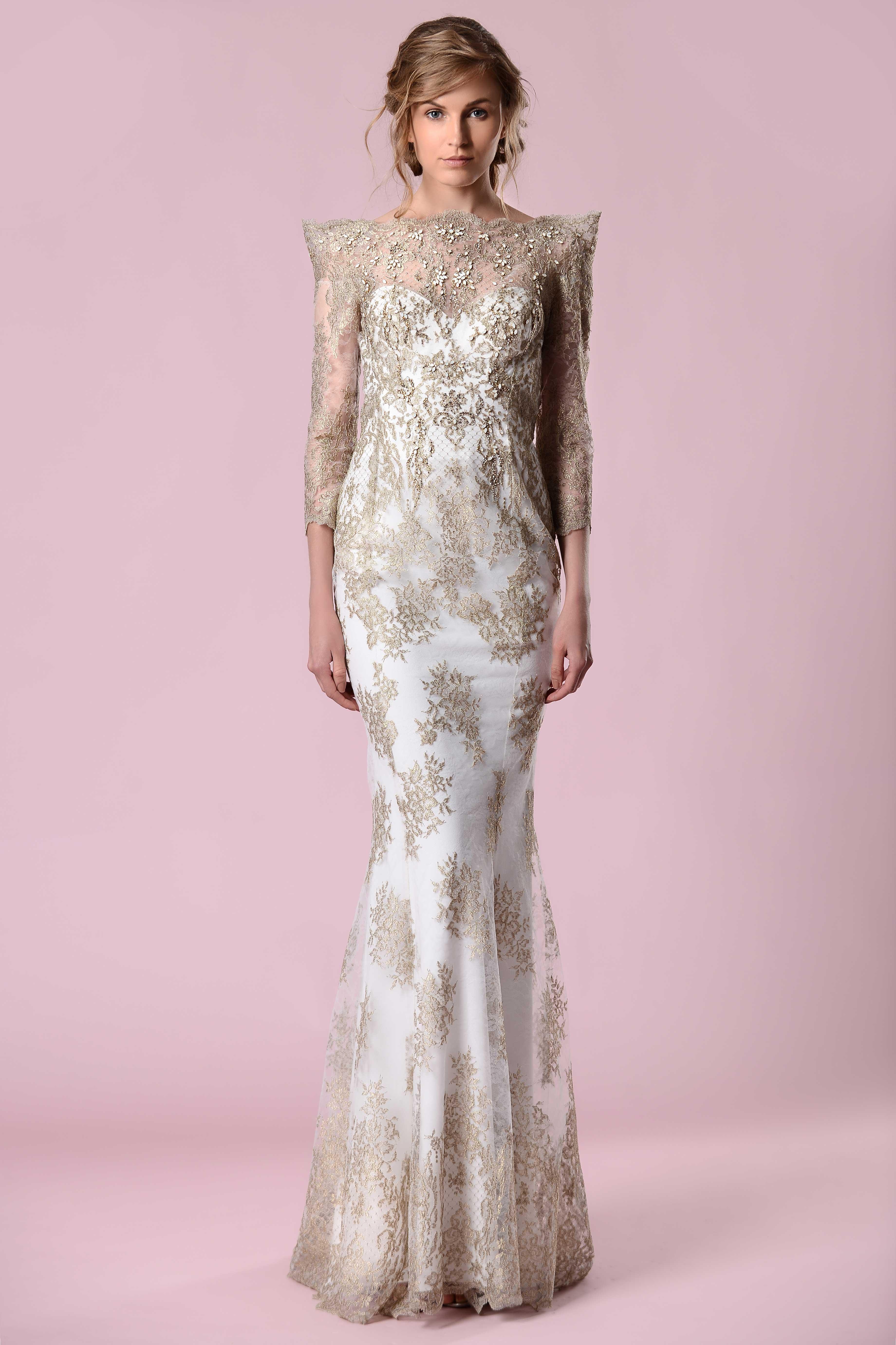 gemy malouf wedding dress