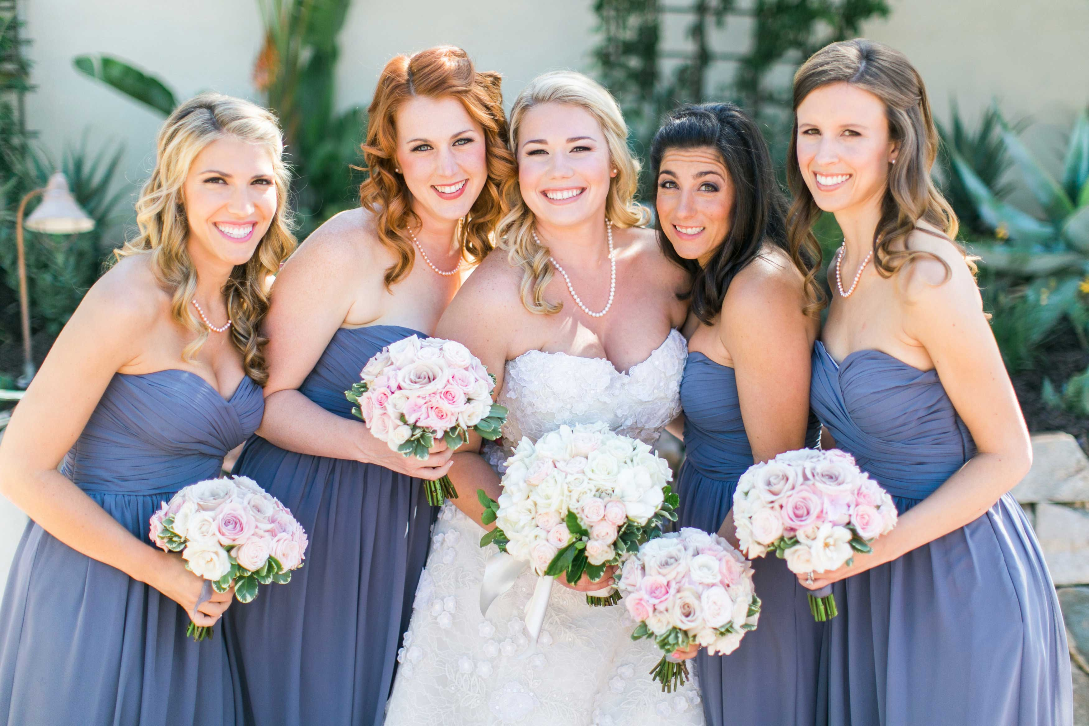 2016 Pantone Color of the Year Bridesmaid Ideas