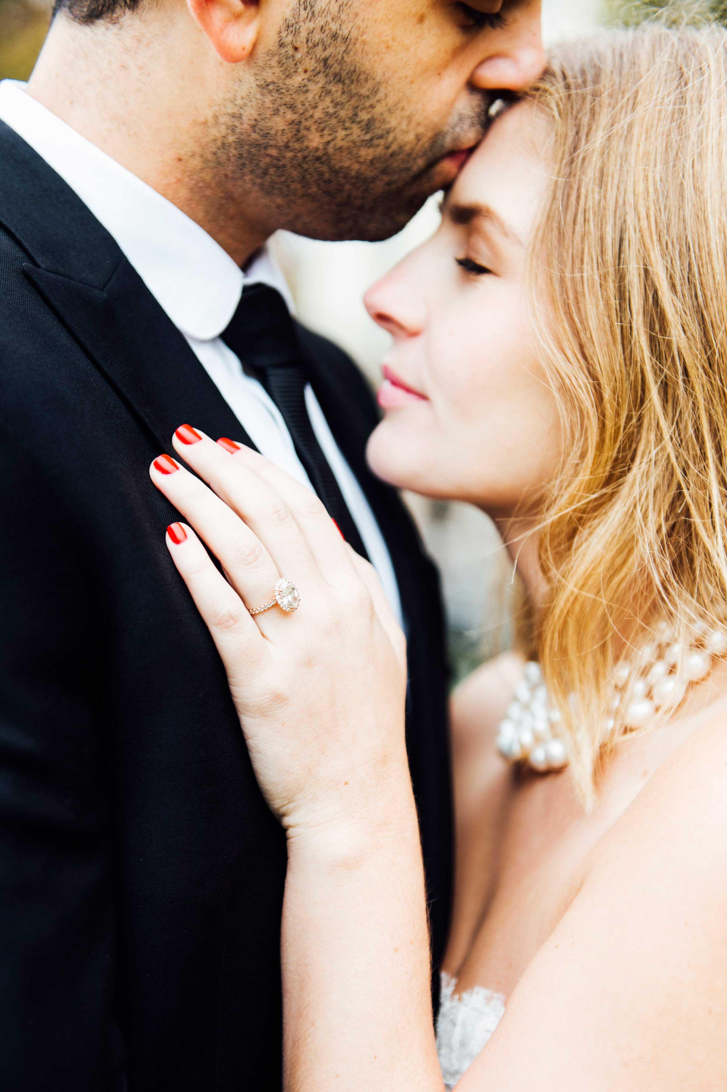 Sabrina Dahan engagement ring photo