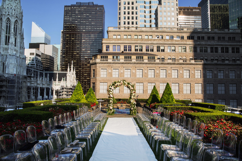 Landry Fields New York wedding ceremony