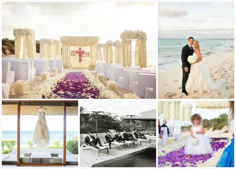 Turks & Caicos destination wedding ideas