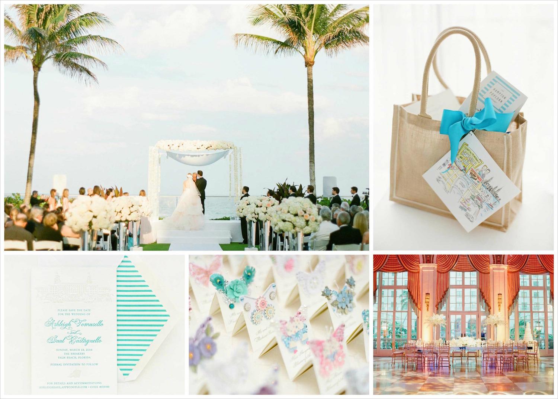Palm Beach Florida destination wedding ideas