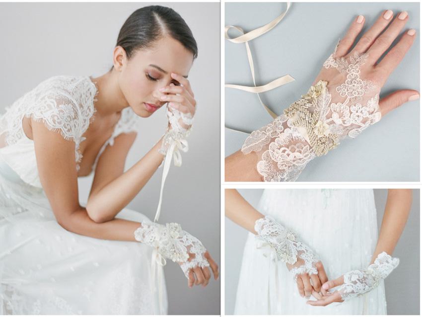 Alencon wedding lace courtesy of Claire Pettibone