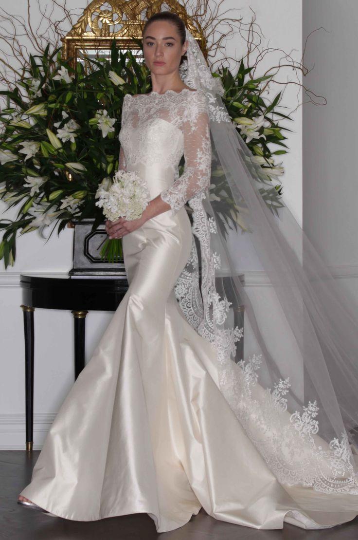 Romona Keveza fall 2016 lace wedding dress