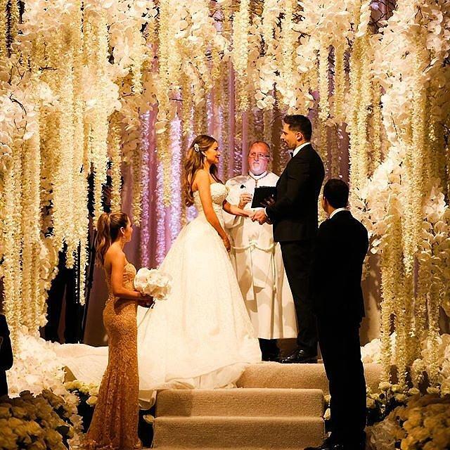 Sofia Vergara and Joe Manganiello wedding photo
