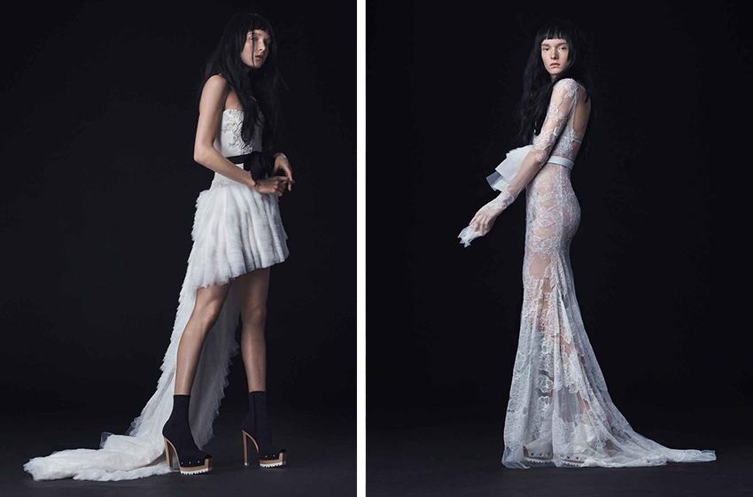 FKA Twigs wedding dress ideas by Vera Wang