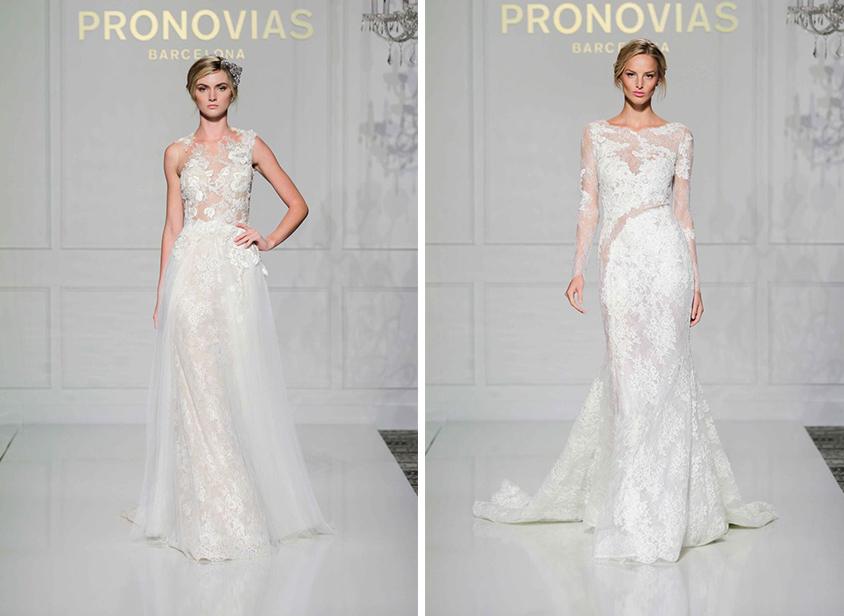 Emmy Rossum wedding dress ideas by Pronovias