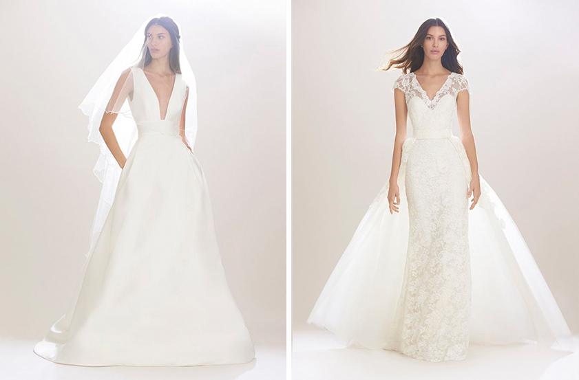 Eva Longoria wedding dress ideas by Carolina Herrera