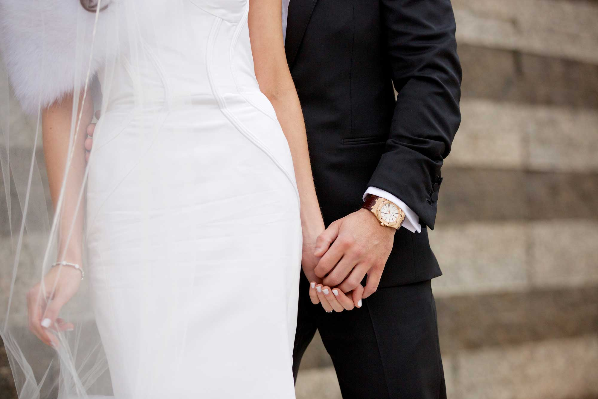 Jennifer Stone wedding manicure for Chad Carroll wedding