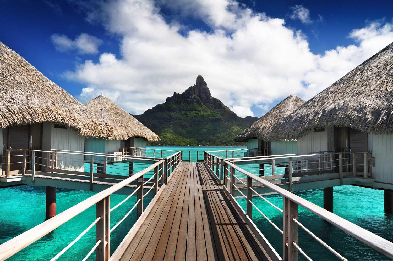 Le Meridien Bora Bora overwater bungalows