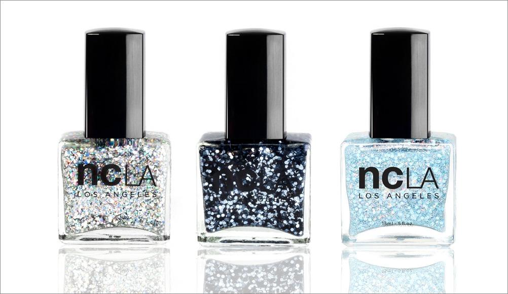NCLA glitter nail polish