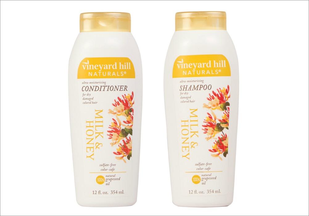 Vineyard Hill Naturals Milk & Honey shampoo