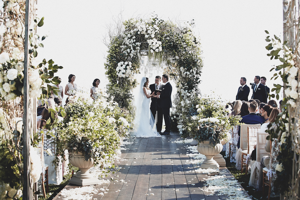 Brittney Palmer wedding ceremony
