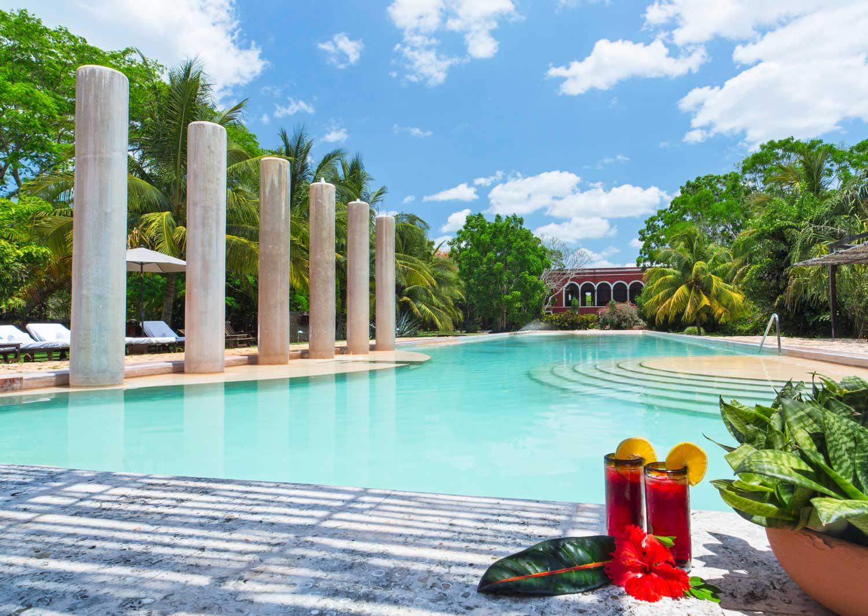 Hacienda Temozon Main Pool
