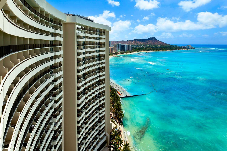 Sheraton Waikiki exterior shot