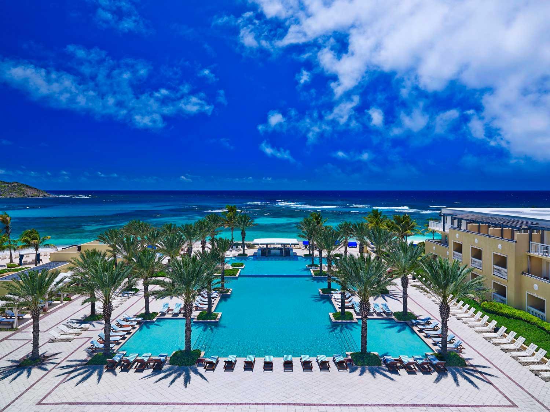 Westin Dawn Beach infinity pool