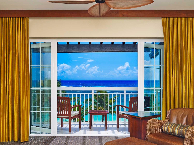 Westin Dawn Beach oceanfront patio