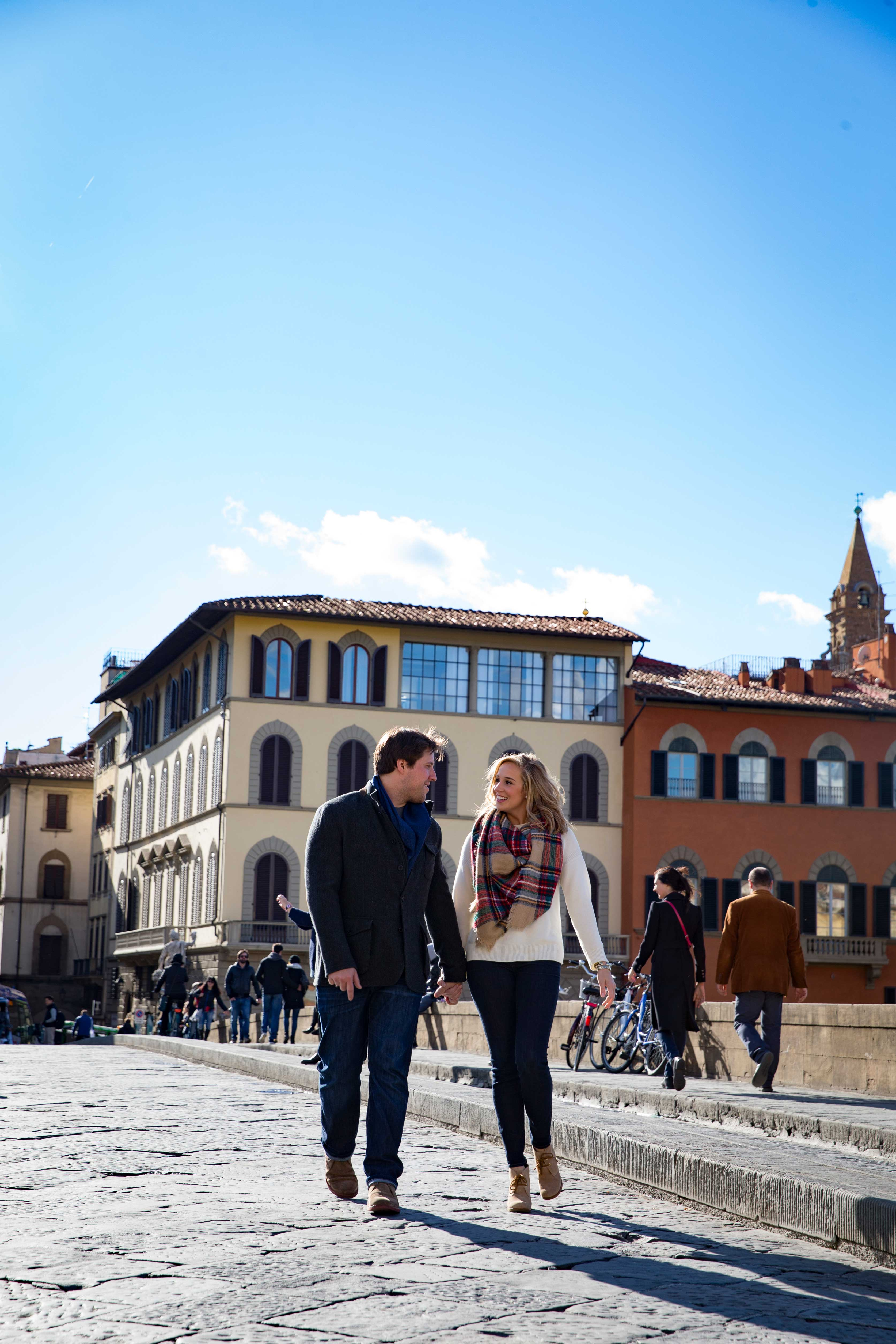 Engagement shoot in Florence, Italy