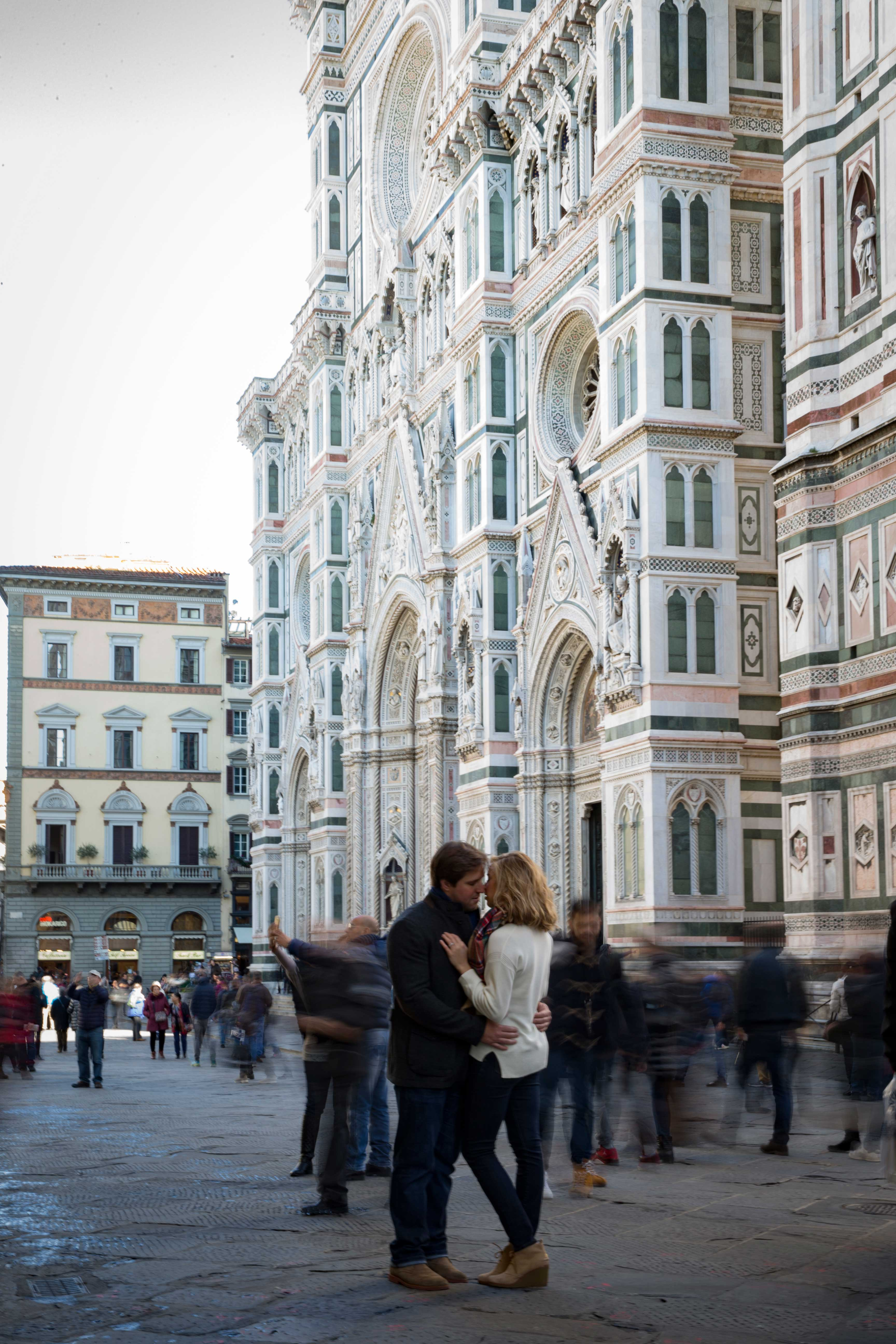 Engagement Shoot at The Duomo in Florence, Italy