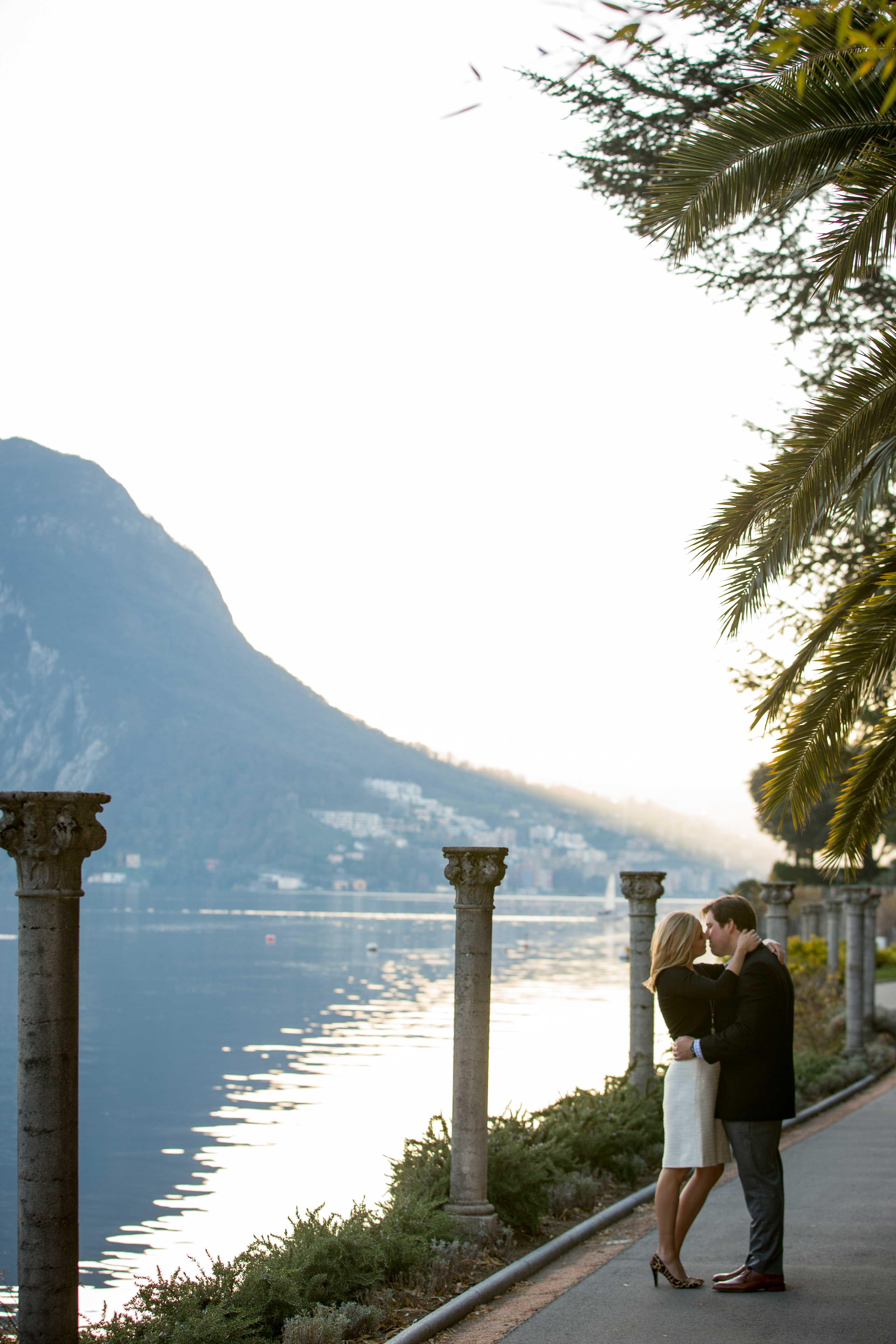 Lugano, Switzerland engagement shoot