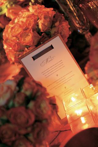 wedding-menu-attached-to-wood-slat