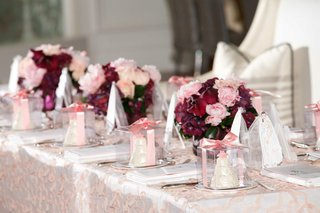 pink-and-red-floral-arrangement-at-bridal-shower