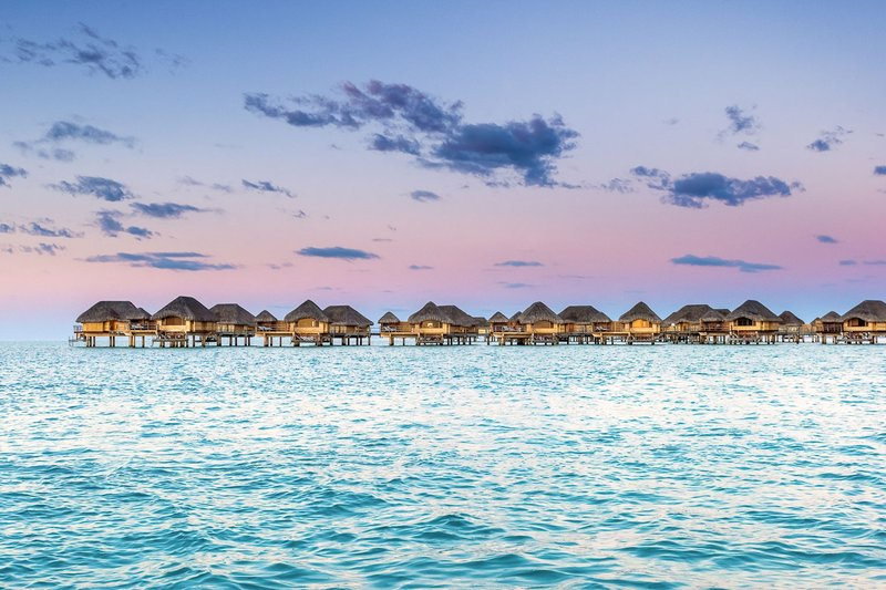 Overwater Bungalows at Le Taha'a by Pearl Resorts