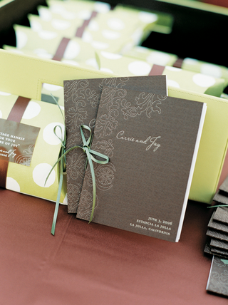 wedding-ceremony-program-of-events-in-brown