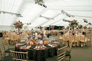 reception-tent-with-stage-and-lighting