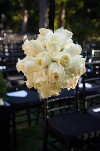 wedding-ceremony-hanging-rose-decorations